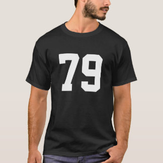 Sports number 79 T-Shirt