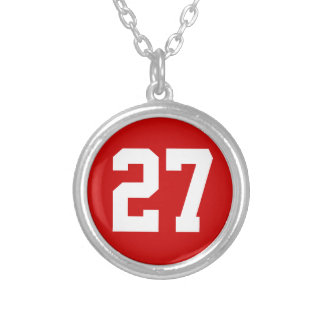 Sports Number Necklaces for Men, Women, Boys Girls