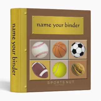 Sports Nut Binder