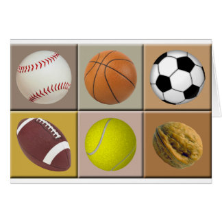 Sports Nut Card