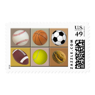 Sports Nut Stamp