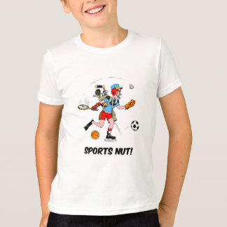 sports nut T-Shirt