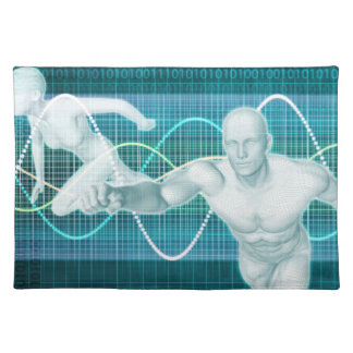 Sports or Sport Nutrition as a Research Concept Cloth Place Mat
