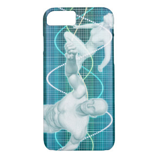 Sports or Sport Nutrition as a Research Concept iPhone 7 Case