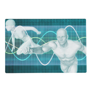 Sports or Sport Nutrition as a Research Concept Laminated Place Mat