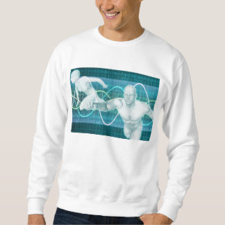 Sports or Sport Nutrition as a Research Concept Sweatshirt