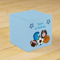 Sports Party Favor Gift Box