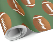 Sports Party football theme Wrapping Paper