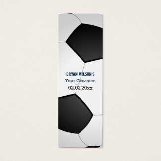 Sports Party Soccer theme Personalized Gift Tags