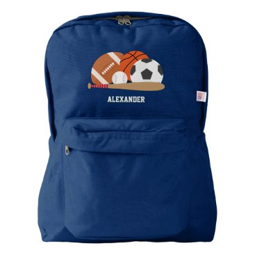 heartlocked Sports Personalized Backpack