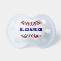 Sports Personalized Baseball Pacifier