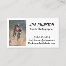 Sports Photography Business Card