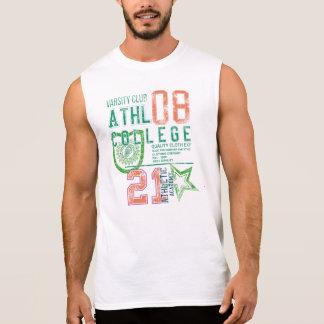 sports print Men's Ultra Cotton Sleeveless T-Shirt