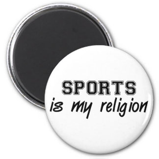 Sports Religion Magnet