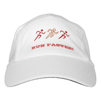 Sports running fun quote custom text headsweats hat