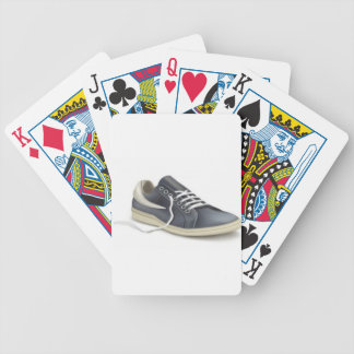 Sports shoe sneaker design bicycle playing cards