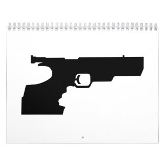 Sports shooting gun calendar