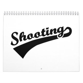 Sports shooting calendar