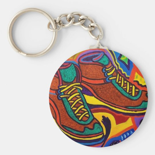 Sports Sneakers by Piliero Keychain