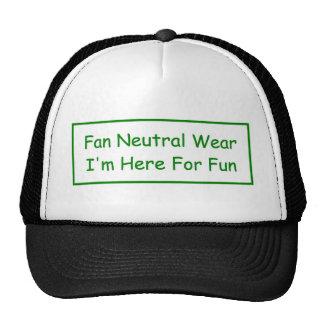 Sports Stadium Fan Neutral Wear Trucker Hat