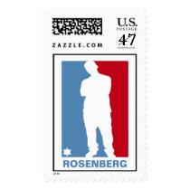 Sports Star Bar Mitzvah Stamp, Large Postage