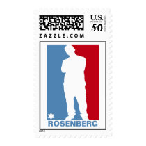 Sports Star Bar Mitzvah Stamp, Medium Postage