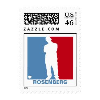Sports Star Bar Mitzvah Stamp, Small