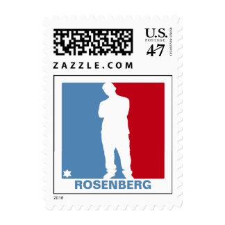 Sports Star Bar Mitzvah Stamp, Small Postage Stamp