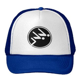 Sports Swimming Trucker Hat Cap