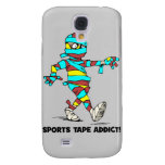 sports tape addict galaxy s4 case