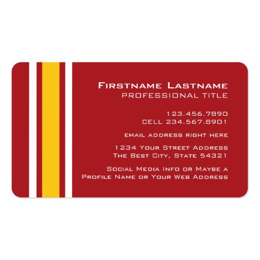 Sports team football jersey custom name number business card zazzle