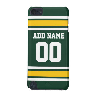 Sports Team Football Jersey Custom Name Number iPod Touch (5th Generation) Cover
