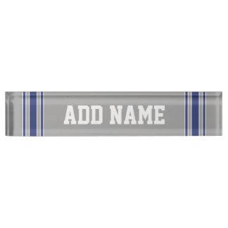 Sports Team Football Jersey Custom Name Number Nameplate