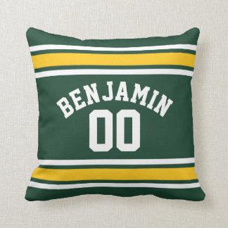Sports Team Football Jersey Custom Name Number Pillows