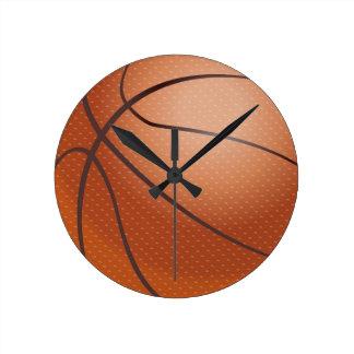 Sports Theme Basketball Wall Clock