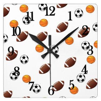 Sports Theme Clock