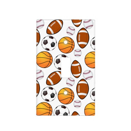 Sports Theme Cool Light Switch Cover Zazzle