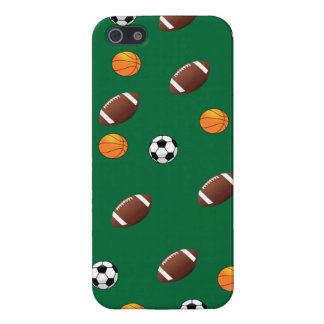 Sports Theme Green Background  iPhone5 Case Cases For iPhone 5