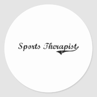 Sports Therapist Professional Job Stickers