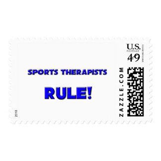 Sports Therapists Rule! Stamp