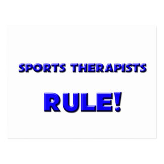 Sports Therapists Rule! Post Cards
