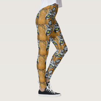 Sports tiger eye cat Personalize Destiny Destiny'S Leggings