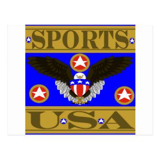 Sports USA Blue.png Postcard