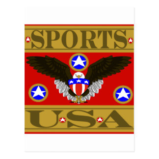 Sports USA Red.png Postcard