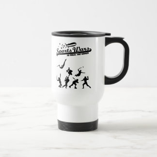 Sports Wars Travel Mug
