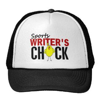 Sports Writer's Chick Trucker Hat