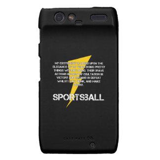 Sportsball! Go Team! Droid RAZR Covers