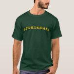 Sportsball - Gold T-Shirt