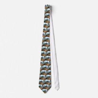 Sportscar clásico corbatas personalizadas