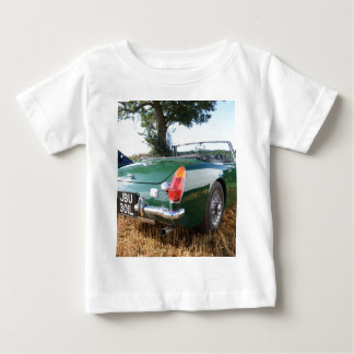 Sportscar clásico playera de bebé